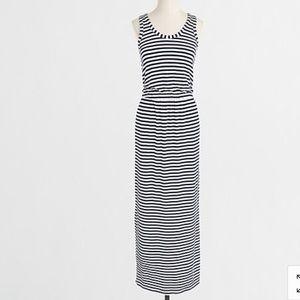 J Crew Factory stripe stretch tank dress